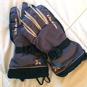 DaKine snow gloves w/ removable fleece M